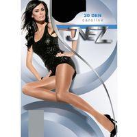 Rajstopy Inez Caroline Elastil 20 den 5-XXL 5-2XL, beżowy/natural. Inez, 5-2XL, kolor beżowy