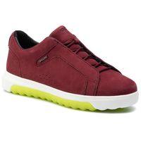 Sneakersy - d nexside a d94fma 00032 c7005 bordeaux nrf: 601 marki Geox