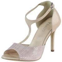Sandały 210 - beżowo-różowy w35+11227, Mateo