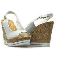 Sandały sa70-4 szare lico marki Jezzi