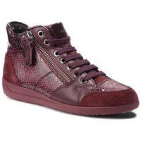 Sneakersy GEOX - D Myria C D6468C 04120 C7B7J Bordeaux/Dk Burgundy