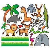Zwierzęta 3 zestaw naklejek marki Deco-strefa – dekoracje w dobrym stylu