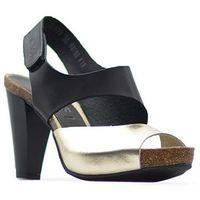 Sandały 42103 czarny 11+złoty f marki Nessi
