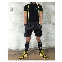 Boxer (es) Boxer bracer harness yellow szelki-harness żółte