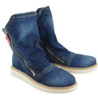 41c229 jeans, botki damskie, Lanqier