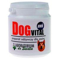Dr seidel dog-vital - preparat odżywczy zawierający hmb, poprawia kondycję psów aktywnych, wpływa na zwiększenie muskulatury 300g marki Dr seidla
