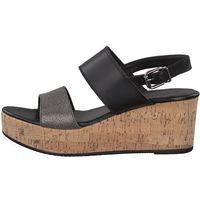 Tamaris sandały damskie 36 czarny, kolor szary
