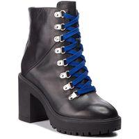 Botki STEVE MADDEN - Royce Ankle Boot SM11000246-03001-017 Black Leather, ankle
