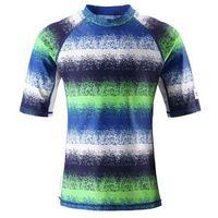 Bluzeczka kąpielowa uv50+ fiji niebieski/zielony/biały - 6645, Reima