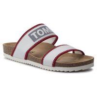 Klapki - technical mesh flat sandal en0en00592 rwb 020, Tommy jeans, 36-41