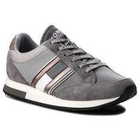 Tommy jeans Sneakersy - casual retro sneaker en0en00317 steel gray/light grey 904