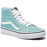 Sneakersy - sk8-hi vn0a38gevkq1 aqua haze/true white marki Vans