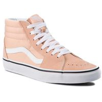 Vans Sneakersy - sk8-hi vn0a38geu5y bleached apricot/true whi