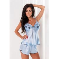 Irall lena błękitny piżama damska