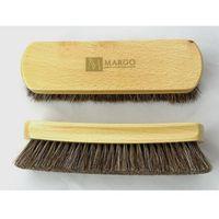 Margo Szczotka z końskiego włosia do czyszczenia butów lux - średnia 19cm