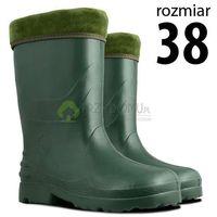 Kalosze EVA damskie zielone rozm.38, kolor zielony