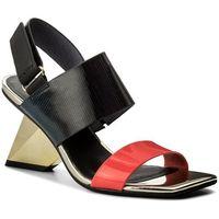Sandały UNITED NUDE - Rockit Sandal 1028955003 Neon Red/Disco/Black, 1 rozmiar