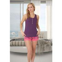 Piżama damska diana 251 fiolet, M-max