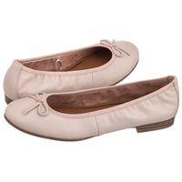 Baleriny różowe 1-22116-20 531 rose leather (tm124-a) marki Tamaris