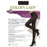Rajstopy tonic 100 den rozmiar: 2-s, kolor: czarny/nero, golden lady marki Golden lady