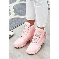Różowe Traperki Pinky Love, w 6 rozmiarach