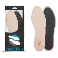 SKÓRZANE wkładki do butów PRZECIWPOTNE SKÓRA (5902670682751)