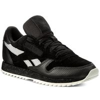 Buty Reebok - Cl Lthr Ripple Sm BS9726 Black/Cool Shadow/Chalk, kolor czarny