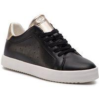 Sneakersy GEOX - D Blomiee B D926HB 054AJ C9258 Black/Lt Gold, w 7 rozmiarach