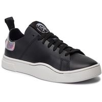 Sneakersy - s-clever ls w y01985 p2546 h1145 black/silver marki Diesel