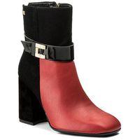 Botki - 6050 czarny czerwony marki Maccioni