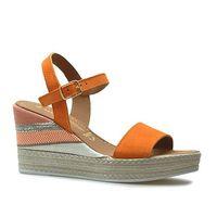 Sandały 2-28347-22 pomarańczowe zamsz, Marco tozzi