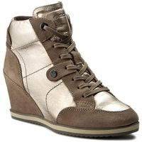 Sneakersy GEOX - D Illusion A D4454A 0KY22 CB5Q6 Champagne/Taupe