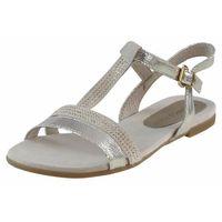 Sandały Marco Tozzi 2-28124 - Złote, kolor żółty