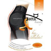 Gatta Rajstopy bye cellulitte 20 den 5-xl, grafitowy. gatta, 2-s, 3-m, 4-l, 5-xl