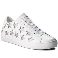 Skechers Sneakersy - star side 73535/wsl white/silver
