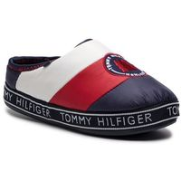 Kapcie - downslipper patch fw0fw04182 rwb 020, Tommy hilfiger