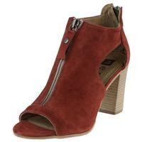 Sandały Nessi 81406 - Burgund 19