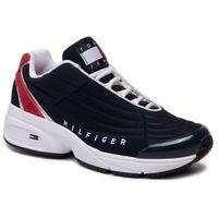 Tommy jeans Sneakersy - heritage tommy jeans sneaker en0en00662 rwb 0k6