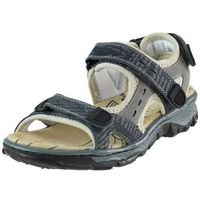 Sandały Rieker 68872-14 - Granatowe