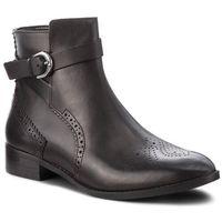 Botki CLARKS - Netley Olivia 261387724 Black Leather, w 2 rozmiarach