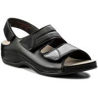 Sandały BERKEMANN - Sofie 01020 Schwarz 906, kolor czarny