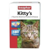 KITTY'S MIX 180szt. - Mix tabletek witaminowych taur.-biot/proteiny/ser dla kotów