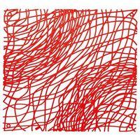 Panel dekoracyjny silk - czerwony - czerwony marki Koziol
