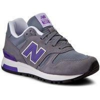 Sneakersy NEW BALANCE - WL565GLW Szary, kolor szary