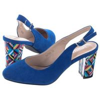 Sandały niebieskie sk788 (sl272-d) marki Sergio leone