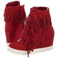 Sneakersy czerwone t323/321 (ch29-c) marki Chebello