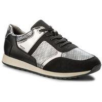 Sneakersy GEOX - D Deynna B D826FB 004AU C9999 Black, kolor szary