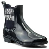 Kalosze TOMMY HILFIGER - Chelsea Rain Boot Striped FW0FW02817 Midnight 403