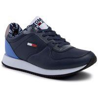 Sneakersy - wmns casual tommy jeans sneaker en0en00719 black iris cbk, Tommy jeans, 35-41