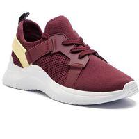 Sneakersy CALVIN KLEIN - Urbi E4485 Bordeaux/Pastel Yell